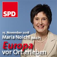 Europa vor Ort erleben mit Maria Noichl MdEP